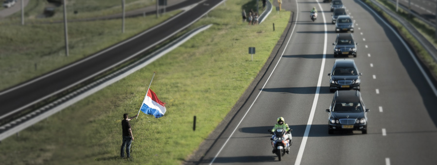 Funeral Procession Victims MH17 in the Netherlands