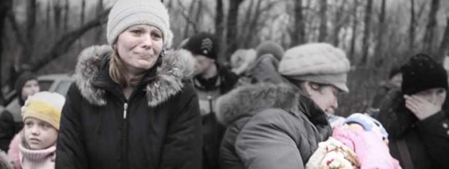 Die Miliz hat einen  humanitären Korridor für die Einwohner eingerichtet und organiiert deren Evakuierung. Die ukrainische Seite hat es den Zivilisten nicht erlaubt, die Frontlinie zu überqueren.