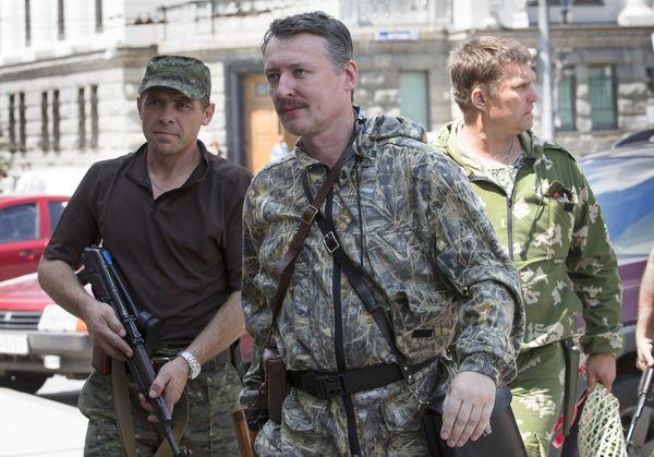 Strelkow in seiner Zeit als Verteidigungsminister der Volksrepublik Donezk