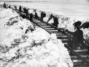 Workuta-Eisenbahnbau
